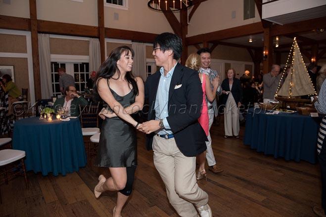 Nantucket Atheneum Dance Festival, After-performance dinner rece