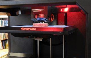 operating 3D printer