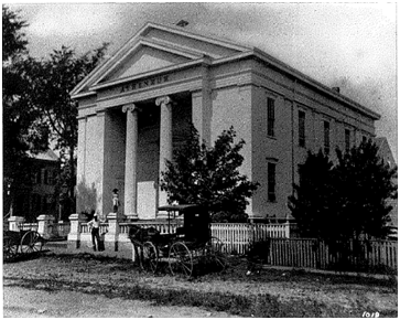 Nantucket Atheneum 1885, Harry C. Platt Photographer