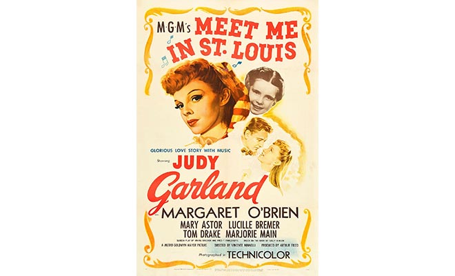 Meet Me in St Louis movie poster.