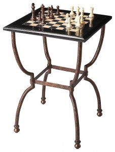 image of a chess table