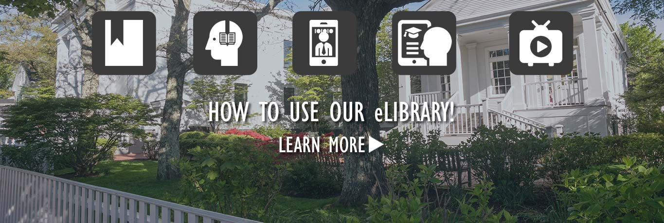 How to use our e-library. View the video.