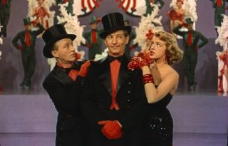 image of Bing Crosby, Danny Kaye, and Rosemary Clooney